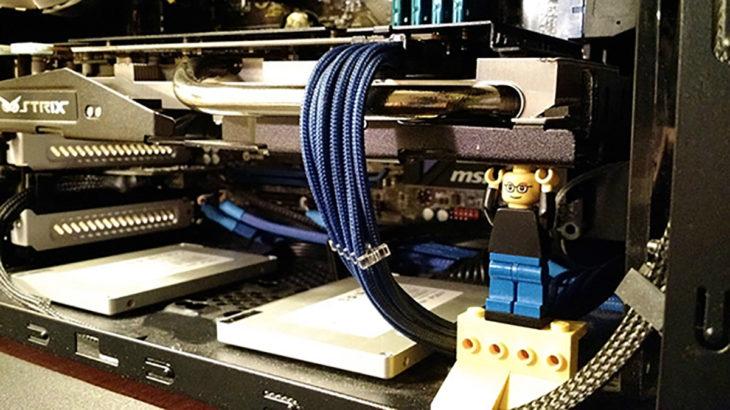 monito y cables
