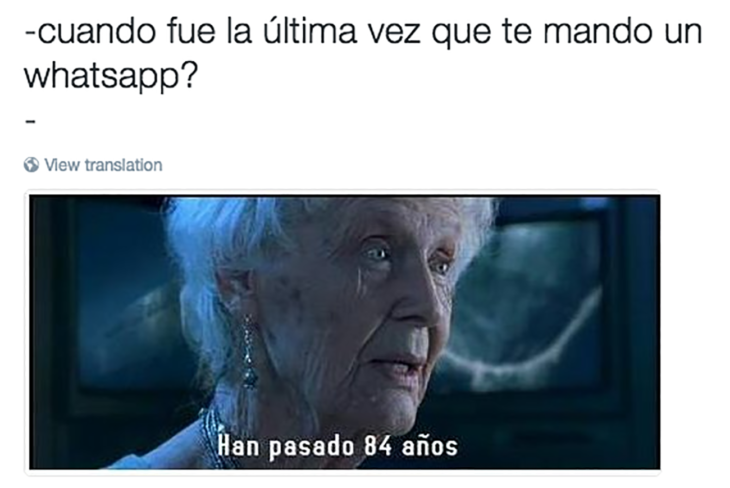 meme anciana titanic