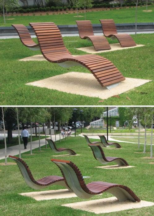 asientos con curva