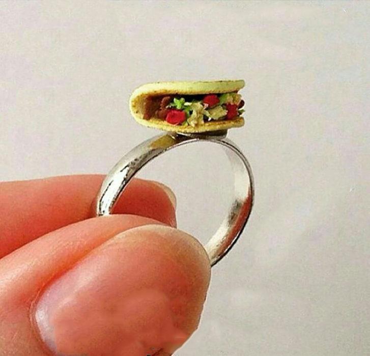 anillo de taco