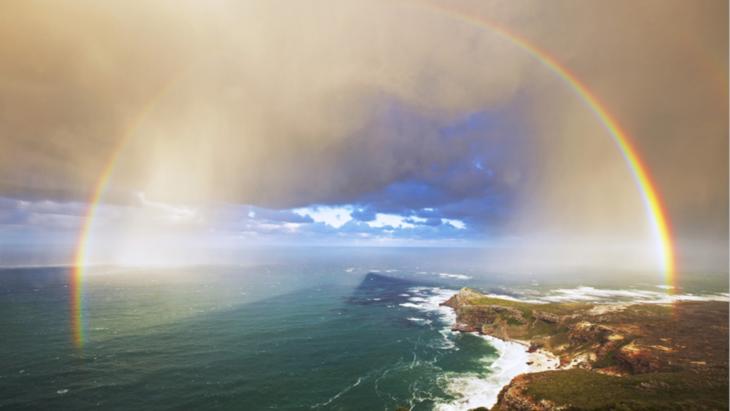 arcoíris perfecto