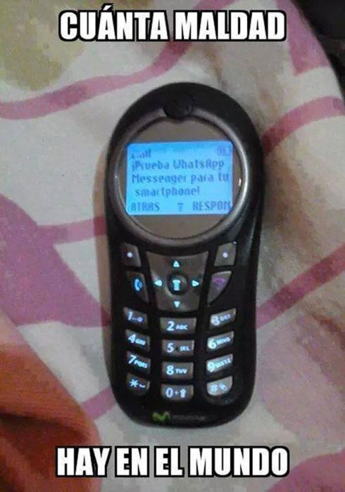 celular antiguo