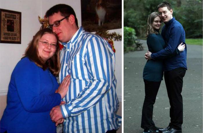 pareja que realmente cambio para dar un giro a su vida