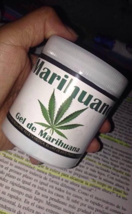 gel de mariguana