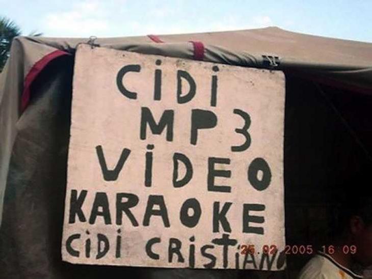 cartel cds cristianos
