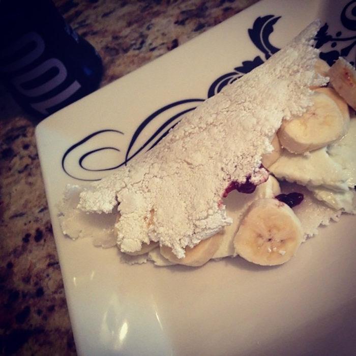 platillo asqueroso de plátano
