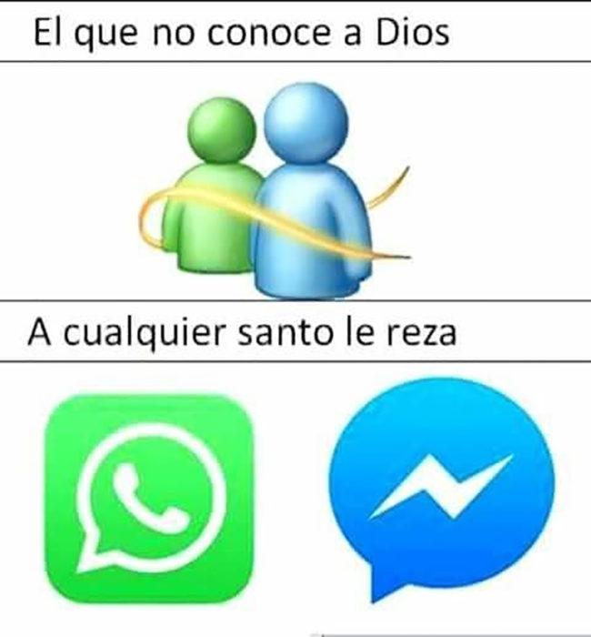 messenger meme