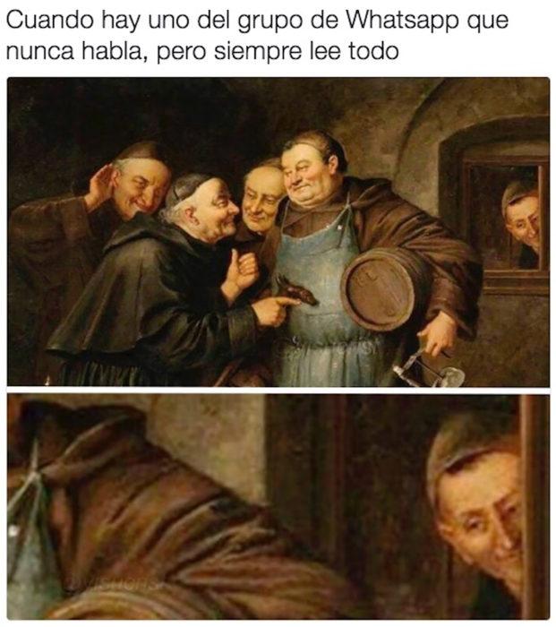 meme pintura clásica