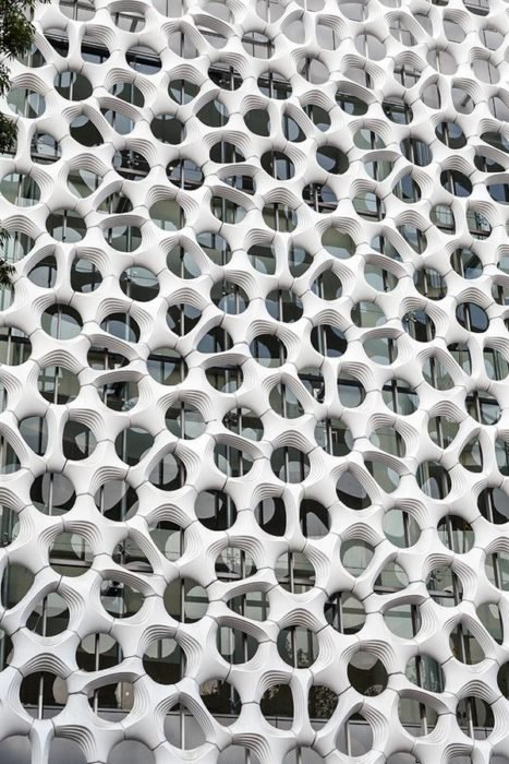 arquitectura tripofobia