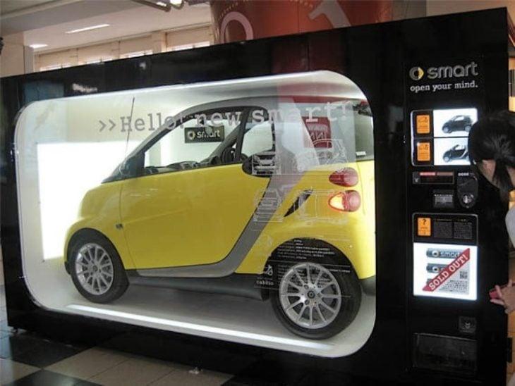 máquinas expendedoras de carros
