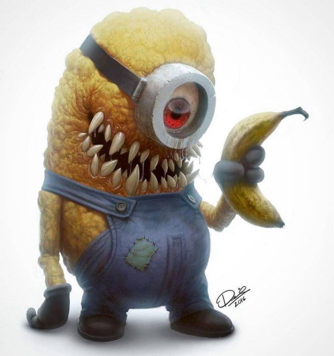 minion monstruo