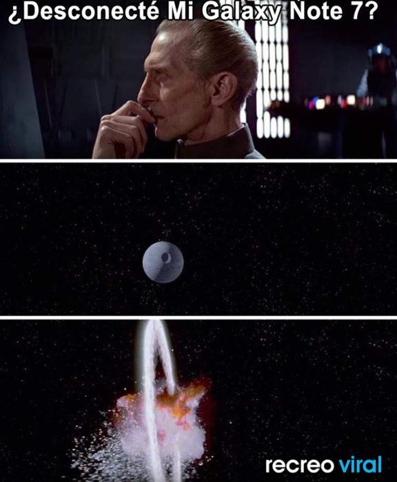 meme explosión galaxia