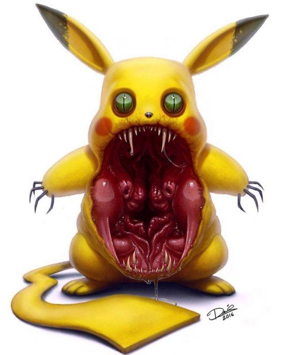 pikachu monstruo