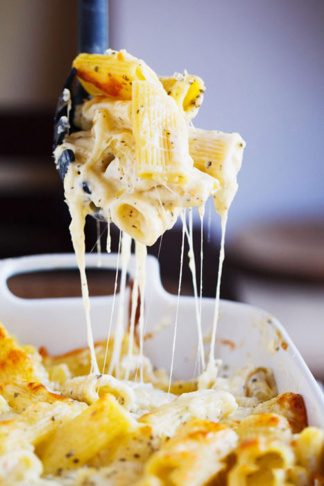 sopa de coditos con queso