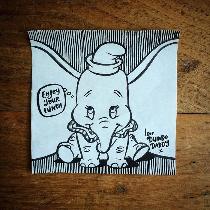 post it de dumbo