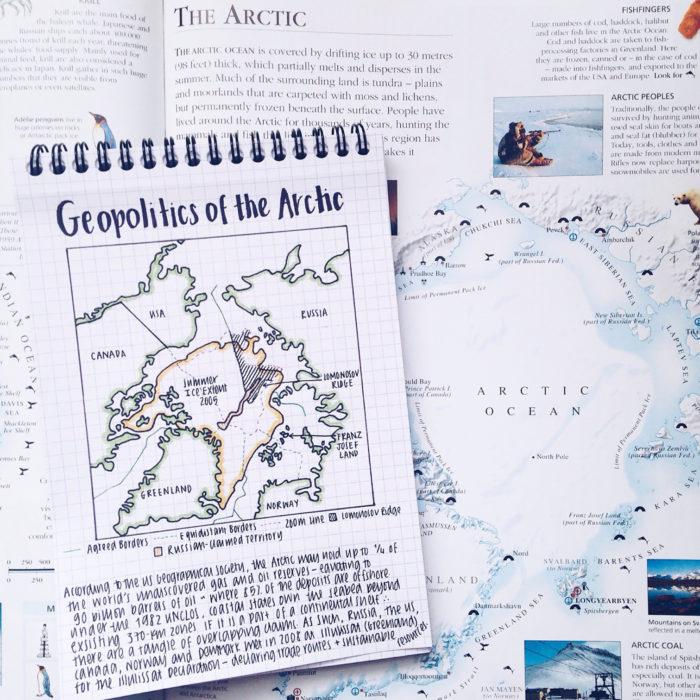 trea geopolítica del ártico