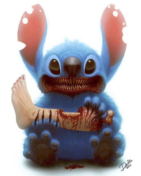 stitch monstruo