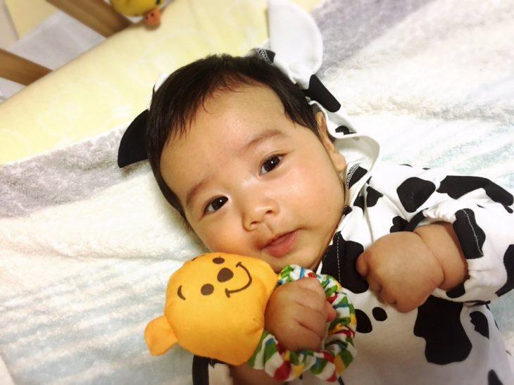 bebé con osito