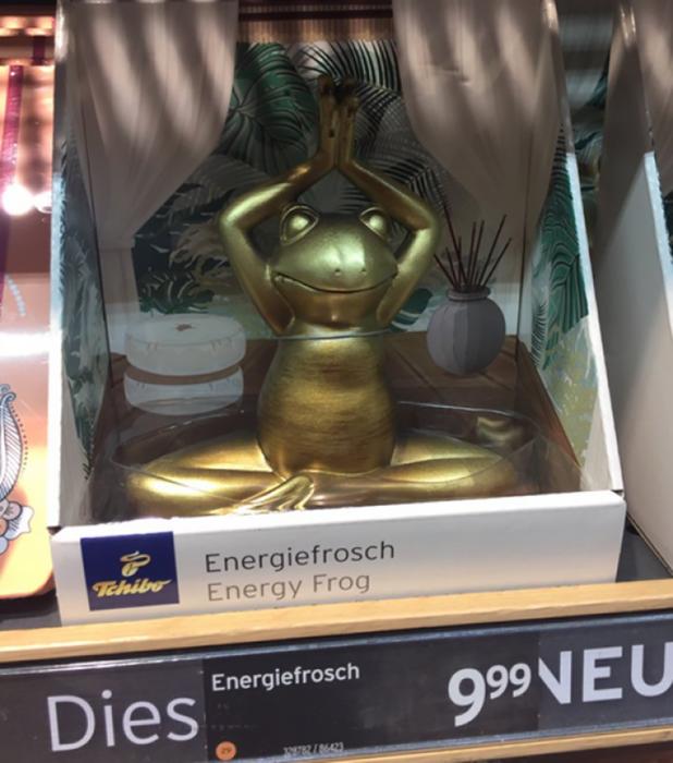 rana de energía