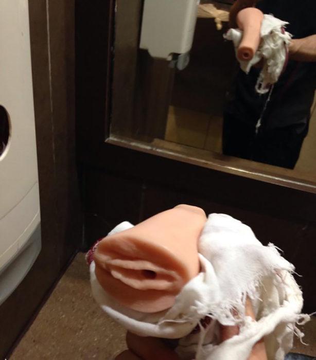 vagina de plástico