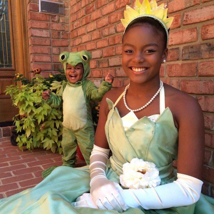 disfraz la princesa y el sapo