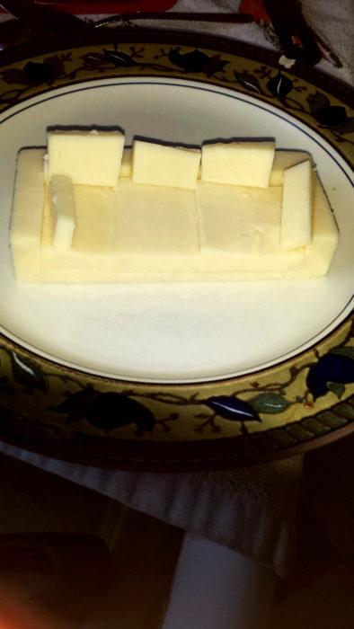 sillón de queso