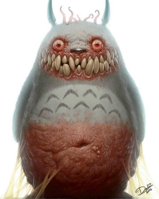 totoro monstruo