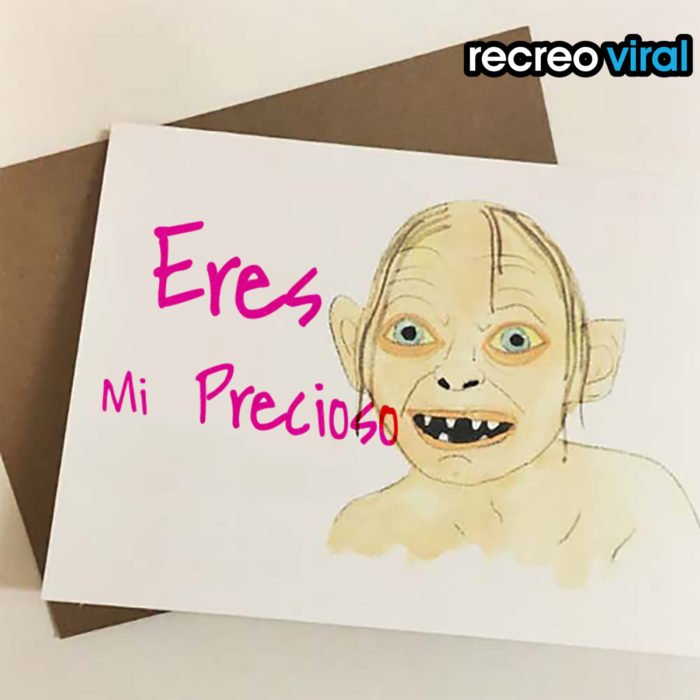 tarjeta my precious
