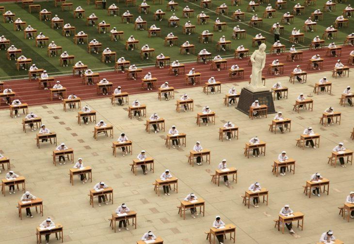 examen es estadio de china