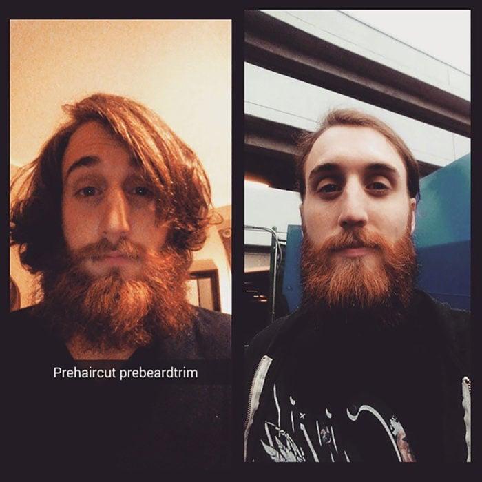 pelirrojo con barba