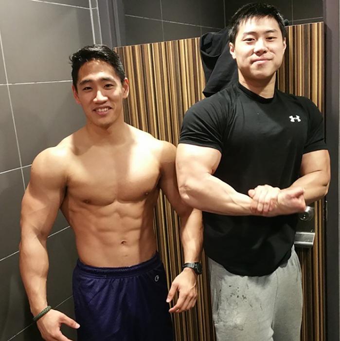 asiáticos fortachones