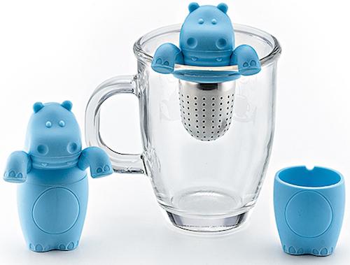 Para infusión de té de hipopótamo