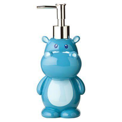 Para el jabón de manos de hipopótamo