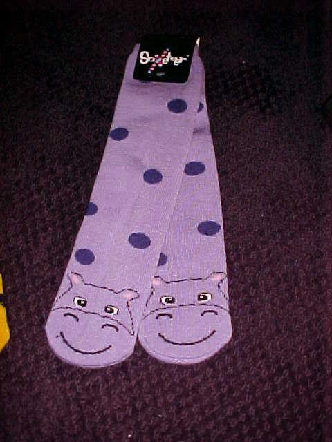Calcetines de hipopótamo