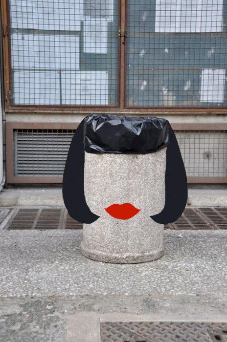 Arte en las calles de París - Francesa
