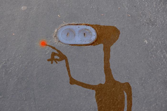 Arte en las calles de París - et