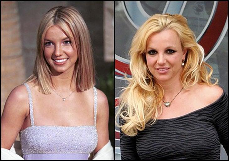 britney antes y después