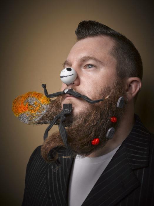 Mejores barbas en el Concurso Nacional de Barba/Bigote 2016