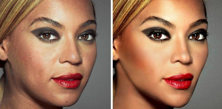 Celebridades usan photoshop - Beyoncé