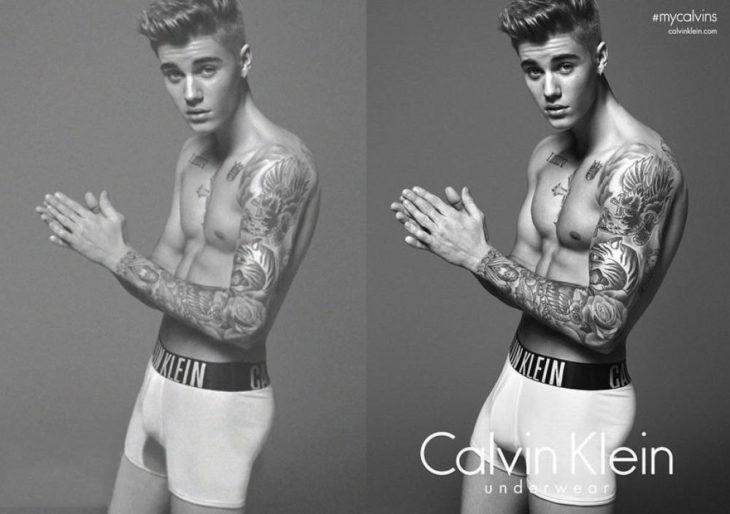 Celebridades usan photoshop - Justin Bieber