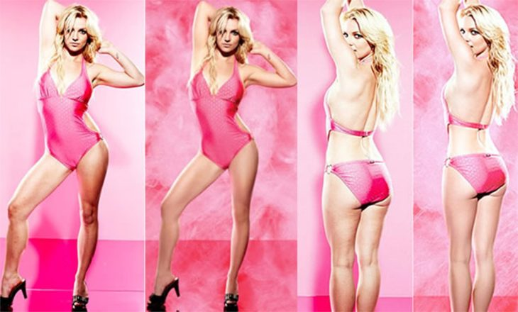 Celebridades usan photoshop - Britney Spears