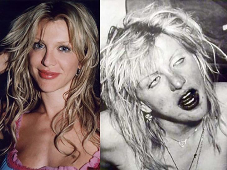 courtney antes y después