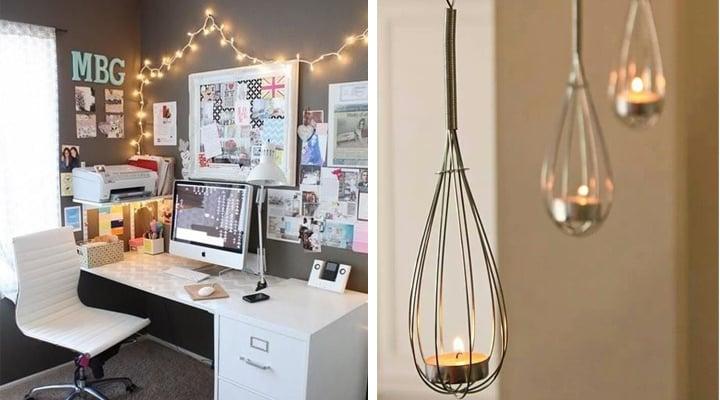20 geniales formas de decorar tu hogar con poco presupuesto for Decoraciones para tu hogar