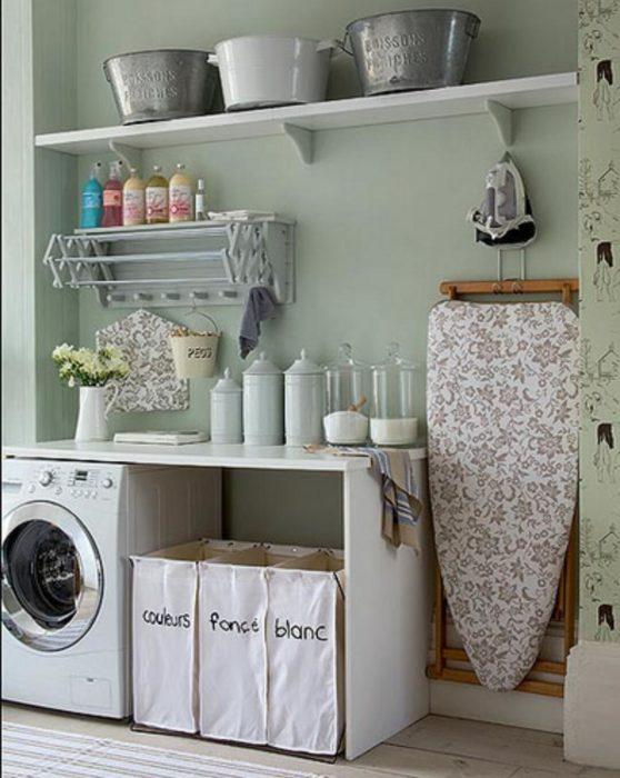 es´pacio en las lavadoras