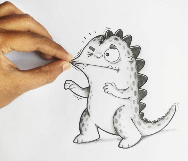 Animaciones Drogo pellizcandole el cachete