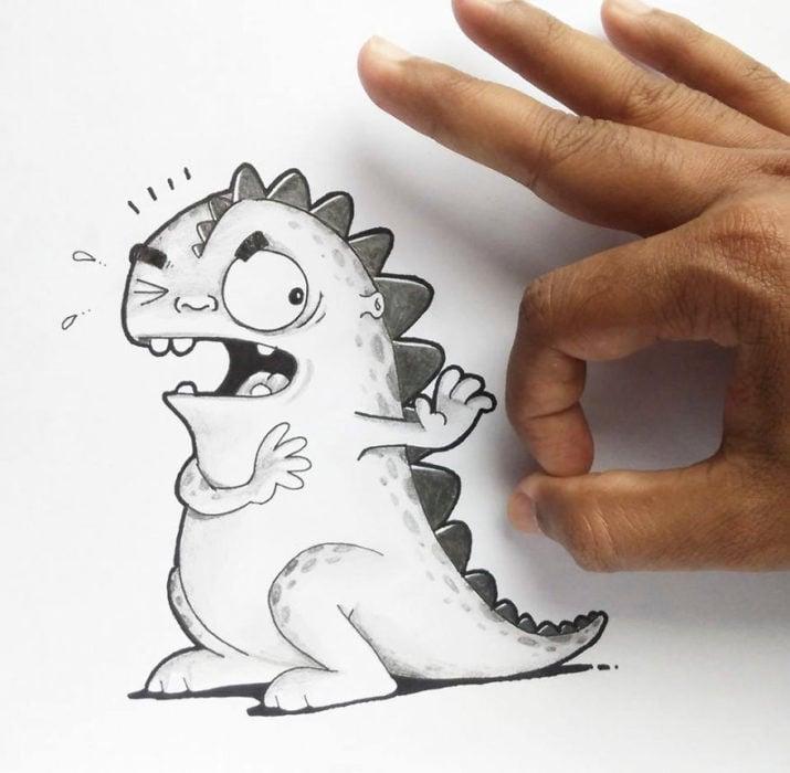Animaciones Drogo sin ganas de que lo molesten