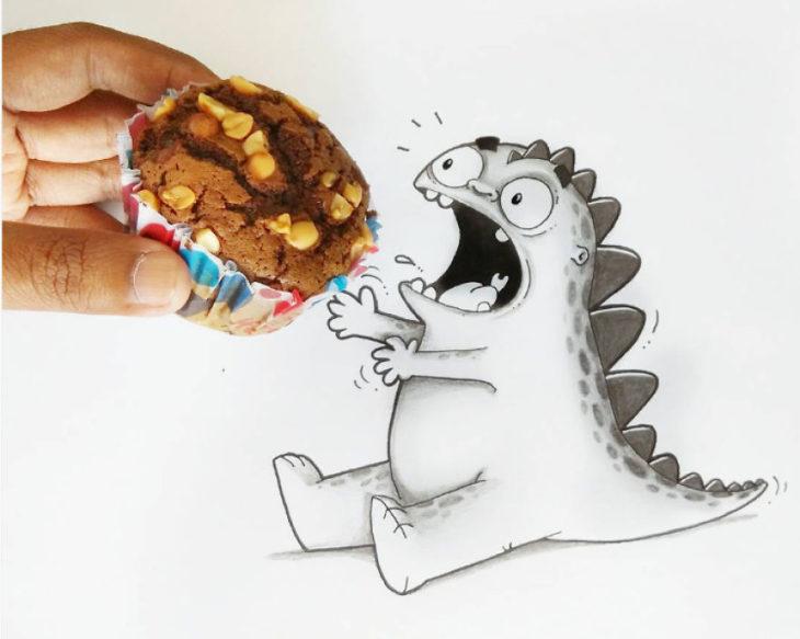 Animaciones Drogo q ueriendo comer