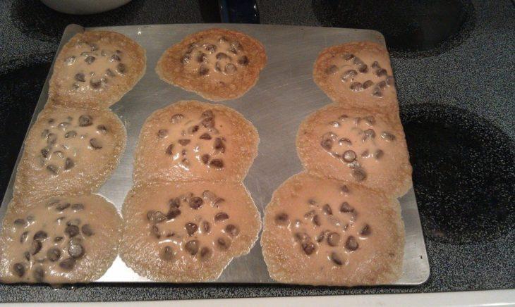 Fails en la cocina - Galletas de chocolate derretidas