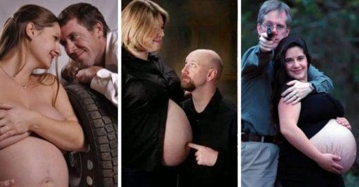 fotografias-raras-embarazo
