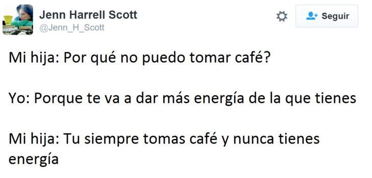 Hilarantes tuits mamás - porque no puedo tomar café?